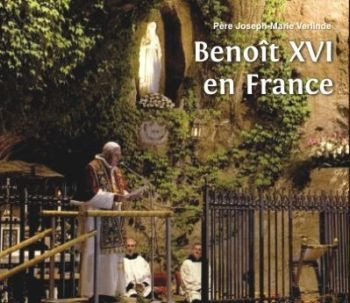 1 CD - Benoît XVI en France