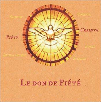 1 CD -Le don de Piété