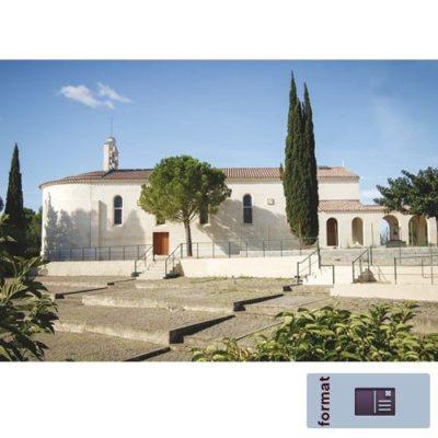 Carte postale Mont-Rouge - L'Eglise
