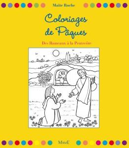 Coloriage Paques Famille.Coloriages De Paques Des Rameaux A La Pentecote Boutique De La